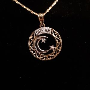 Michael Anthony 14k gold Pendant and Chain